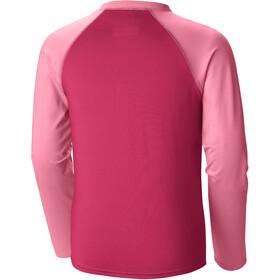 Columbia Mini Breaker T-shirt Manches longues Sunguard Fille, punch pink/lollipop